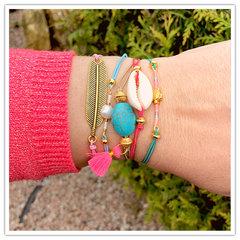 Gekleurde elastieke armbandjes