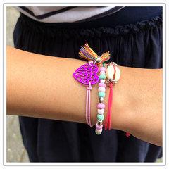 Ibiza Style elastieken armbandjes