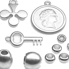 Geborsteld zilver