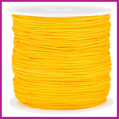 Macramé draad Ø0,8mm Sunflower yellow