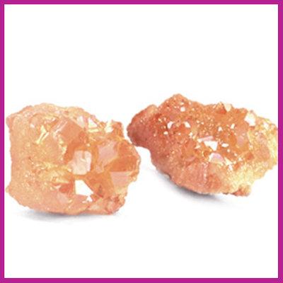 Chipstone kraal crystal quartz coral peach