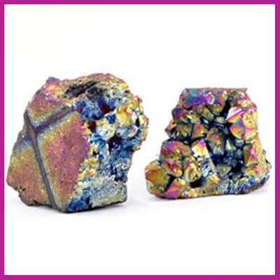 Chipstone kraal crystal quartz grey AB