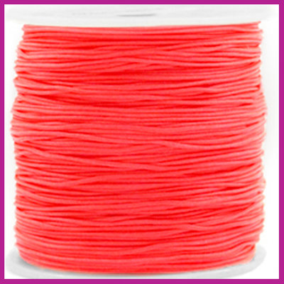 Macramé draad Ø0,8mm Living coral red