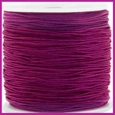 Macramé draad Ø0,8mm Royale aubergine purple