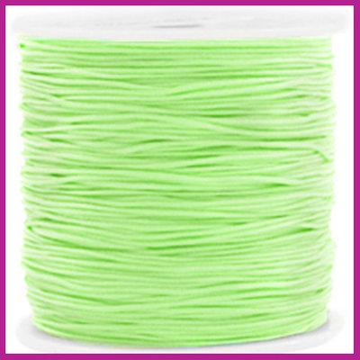 Macramé draad Ø0,8mm Mint green
