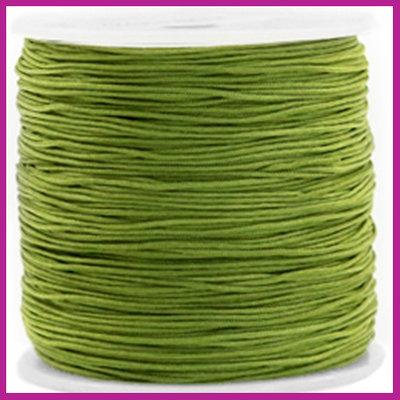 Macramé draad Ø0,8mm Olive green