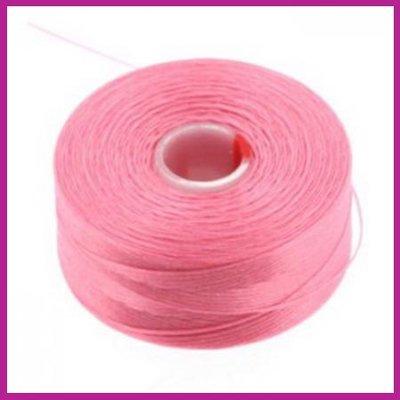 C-Lon D rijgdraad pink