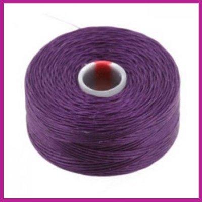 C-Lon D rijgdraad purple