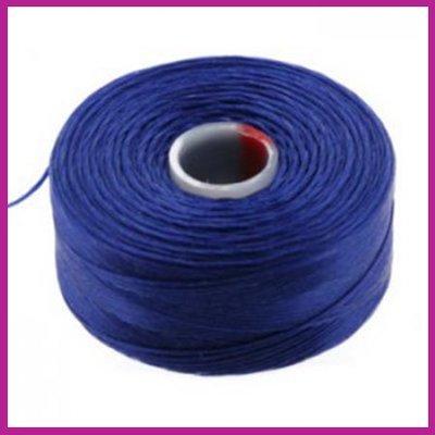 C-Lon D rijgdraad royal blue