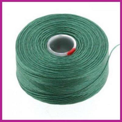 C-Lon D rijgdraad sea foam green