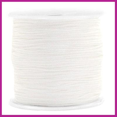 Macramé draad Ø0,8mm Snowy white