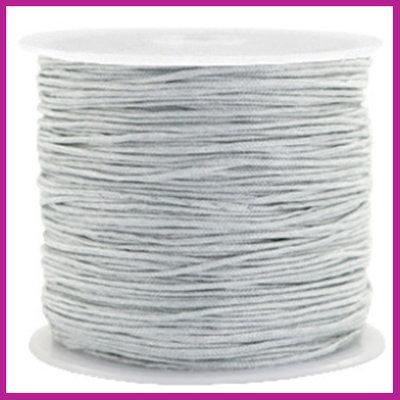 Macramé draad Ø0,8mm Silver grey