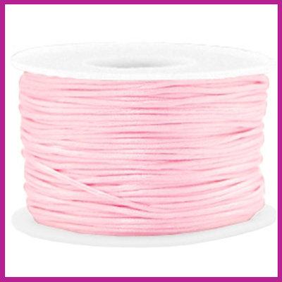 Satijnkoord Ø1,5 mm light pink