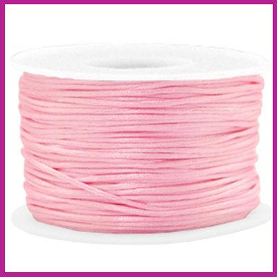 Satijnkoord Ø1,5 mm pink