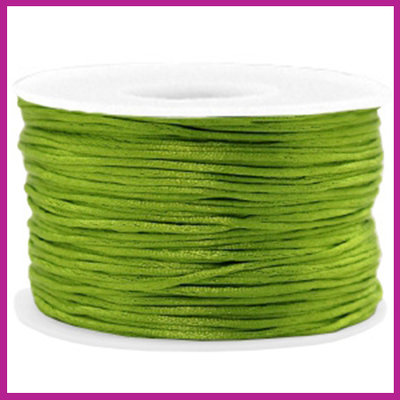 Satijnkoord Ø1,5 mm light olive green