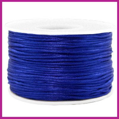 Satijnkoord Ø1,5 mm cobalt blue