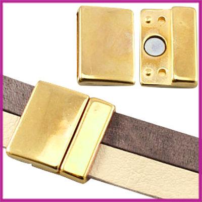 DQ metaal magneetslot large voor 20mm Goud