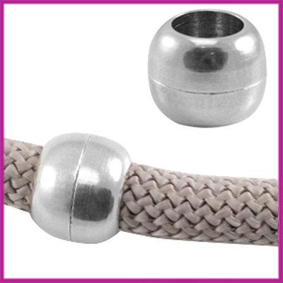 DQ magneetslot voor Dreamz koord 10mm Antiek zilver