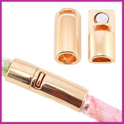 Basic quality metaal magneetslot Ì÷6mm Light rosegold