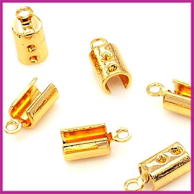 Veterklemmetje 10x4mm GPL goud