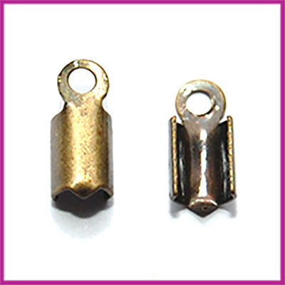 Veterklemmetje 9x4mm MAG brons