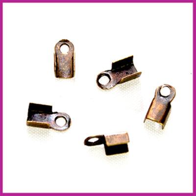 Veterklemmetje 6x3mm MAG brons
