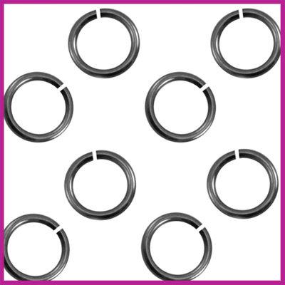 Montagering 6,5mm Zilver Antraciet