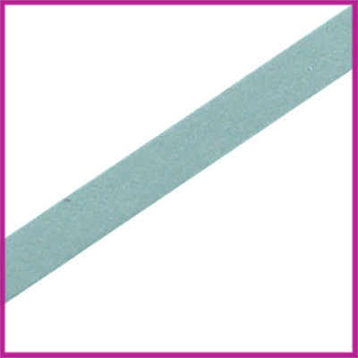 DQ leer plat 5mm Greenish blue ca. 22,5cm
