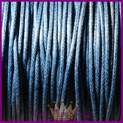 Katoenkoord ø1mm Delfts blauw per meter