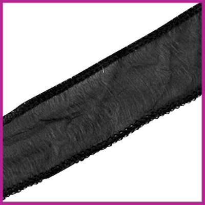 DQ zijde lint 30mm Zwart