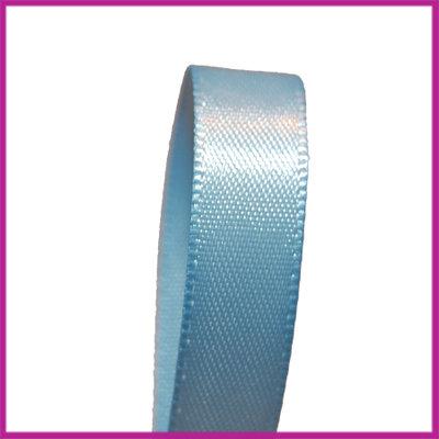 Satijnlint 10 mm licht blauw per meter