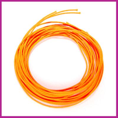 Nylon- katoendraad ø1mm Neon oranje 1 meter