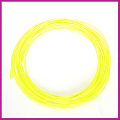Nylon- katoendraad ø1mm Neon geel 1 meter