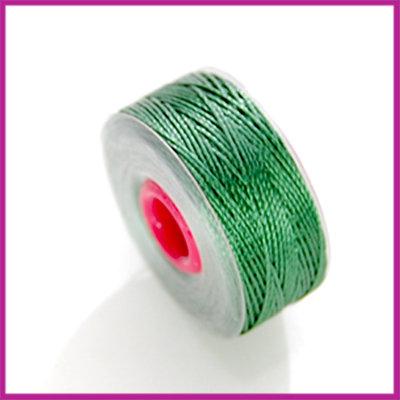 Kralendraad (Silky) 37 meter, 0,2mm Groen