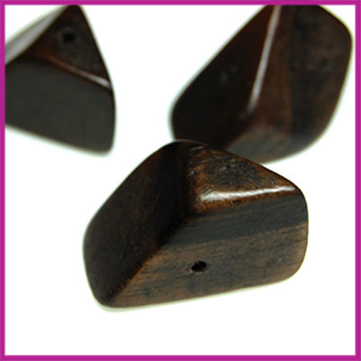 Kamagong nugget bruin ±25x15 mm