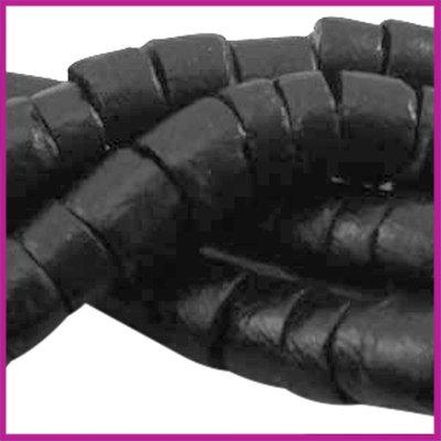 Kokos disc kraal ca. 6mm Zwart