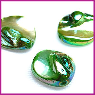 Schelp kraal groen parelmoer