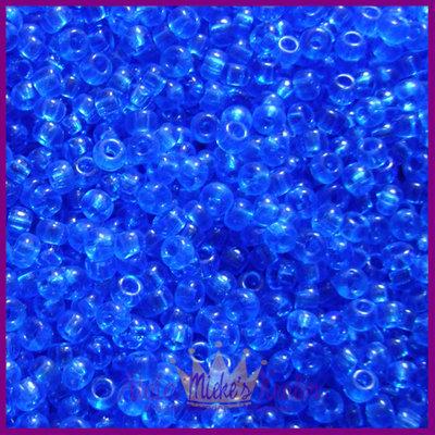 ToHo rocailles 8/0 Transparent blauw