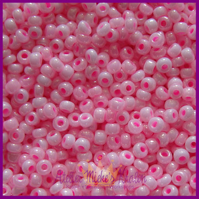 ToHo rocailles 8/0 Pastel zuurstok roze
