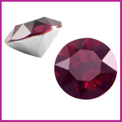 Swarovski puntsteen SS39 (8mm) Burgundy