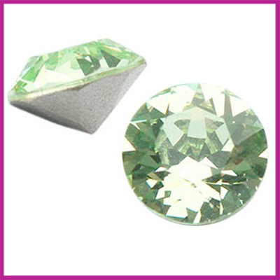 Swarovski puntsteen SS29 (6,2mm) Chrysolite Green