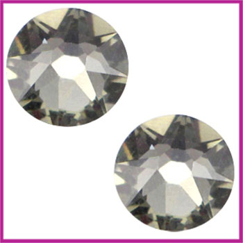 Swarosvki plaksteen SS34 (7 - 7,3mm) Black diamond