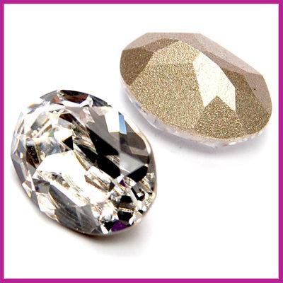 Swarovski ovaall 4320 14x10mm Crystal