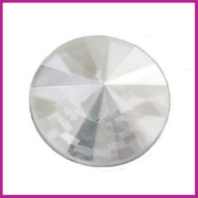 Swarovski Rivolli 2006 plaksteen Crystal 10 mm