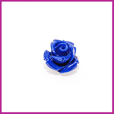 Natuursteen kraal roos 10x9mm Blauw