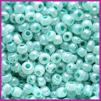 Rocailles 6/0 (4mm) Dusk turquoise blue