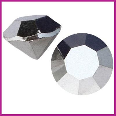 Preciosa MAXIMA puntsteen SS39 (8mm) Silver Labrador