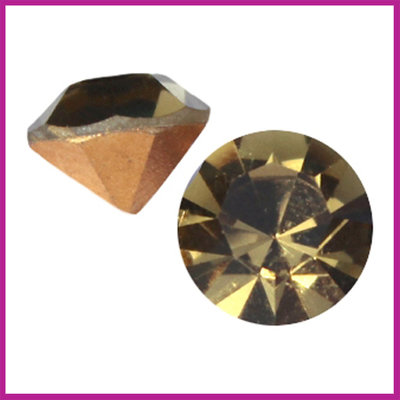 Preciosa puntsteen SS39 (8mm) Gold beryl