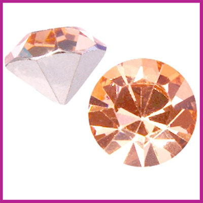 Preciosa MAXIMA puntsteen SS39 (8mm) Light Peach
