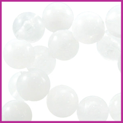 Perla beads rond ø6mm Wit